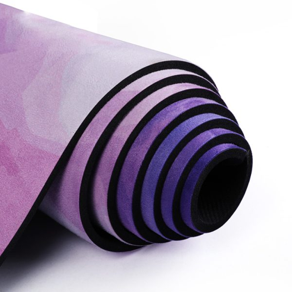 Suede Rubber Yoga Mat-3