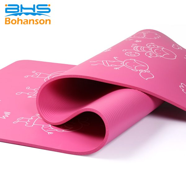 Yoga Mat With Grommets-5